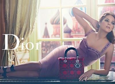 , Lady Dior Moscou avec Marion Cotillard