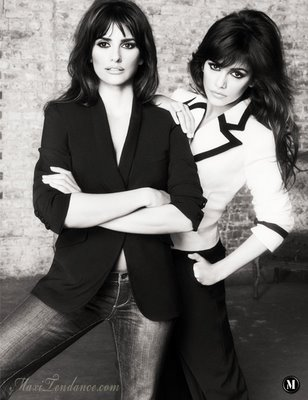 990f158900e953a897fc5747450a48f8 Penelope & Monica Cruz for Mango Collection Eté 2009