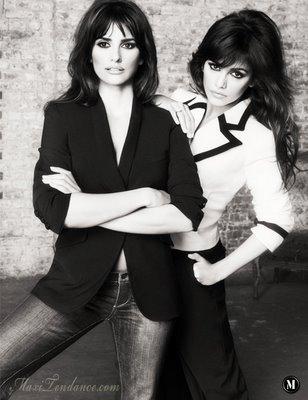 , Penelope & Monica Cruz for Mango Collection Eté 2009