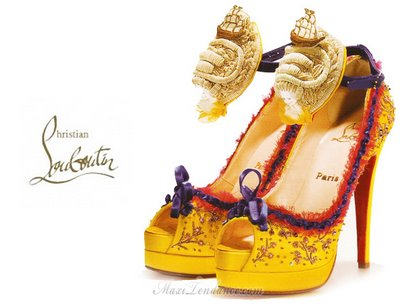 9ee042b5f5b0eb628db80ce3a050ef80 - Chaussures Marie Antoinette par Christian Louboutin