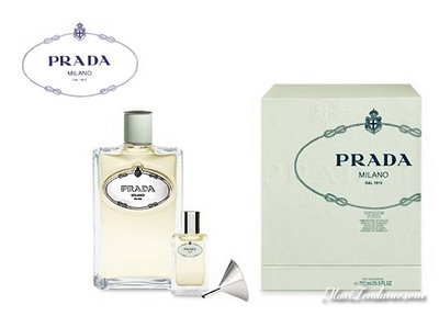 , Prada infusion d'Iris : Parfum d'Interieur et Raffinement