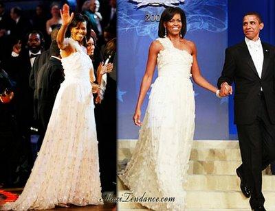 b033fbf18892322c447cc6c8bfaf710f - Michelle Obama en Jason Wu au Bal d'Inauguration