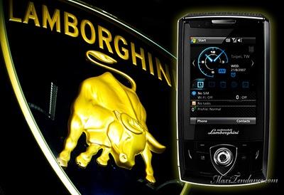 , Asus Lamborghini ZX1 : PDAPhone De Luxe