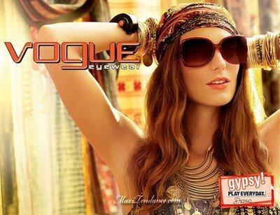 b5e41989a9005771e0a0d42c2d2431ab - Vogue Eyewear Lunettes de Soleil : Campagne Pub 2009