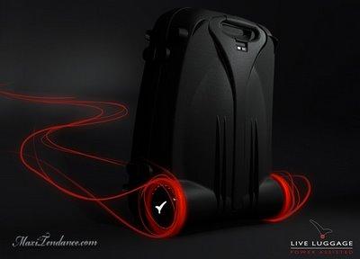 , Live Luggage : Premiere Valise Motorisee