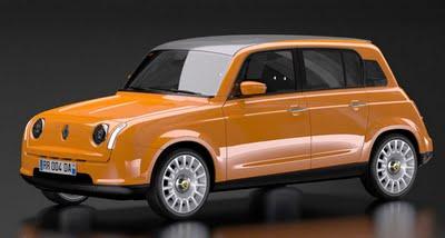 , Concours Designboom Renault 4 Ever : David Obendorfer Le Challenger
