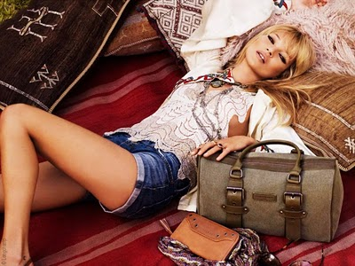 , Longchamp Kate Moss : Collection Faraway Ete 2011