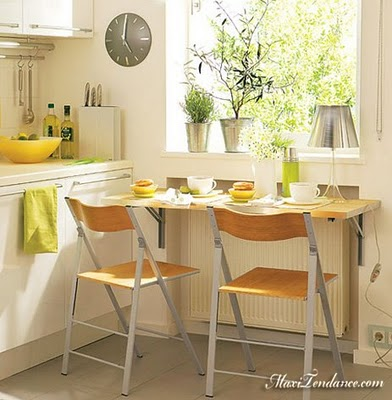 Idee deco kitchenette for Idee pour petite cuisine