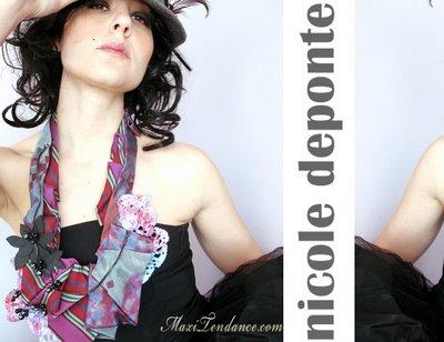 , Nicole Deponte : Foulards Cravates Eco Chics