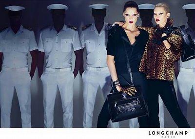, Kate Moss et Daria Werbowy : Longchamp Automne 2009