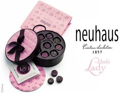 , Neuhaus Chef Lady : Chocolat Belge Au Feminin