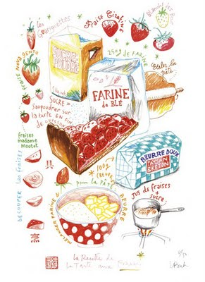 , Illustrations par Lucile Prache : Cuisine Gourmande