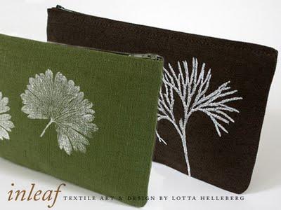 e04ae6cb913bb332421d86a2c1c2feb4 Inleaf par Lotta Helleberg : Creations Textile Bio