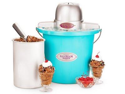 , Nostalgia Electrics : Machine à Crème Glacée Retro