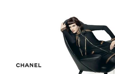 , Chanel Pre Fall 2010 Campagne Pub avec Mirte Maas