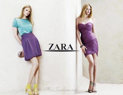 e7700c60ce57941e6df4c97715305a65 Zara Femmes Collection Printemps Eté 2009