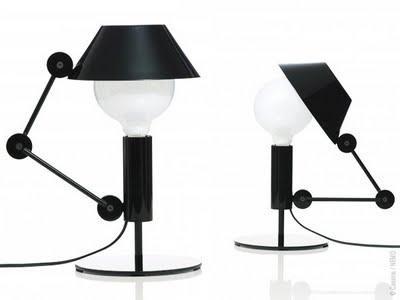, Nemo Mr Light par Javier Mariscal : Lampe de Table Design