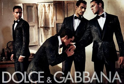 dolce gabbana homme pub. Black Bedroom Furniture Sets. Home Design Ideas