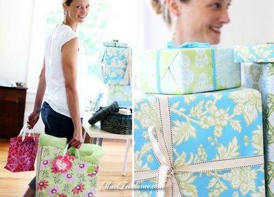 , Amy Butler : Papier Cadeau Chic et Ecolo