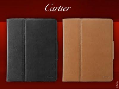 , Cartier Porte iPad : Luxueux Etuis de Protection